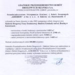 Gdańskie Przedsiębiorstwo Robót Drogowych SKANSKA S.A.